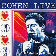 Обложка альбома Леонарда Коэна «Cohen Live: Leonard Cohen in Concert» (1994)