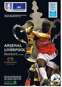 2001 FA Cup Final programme.jpg