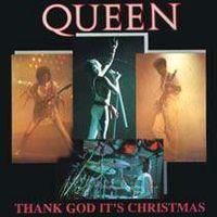 Обложка сингла «Thank God It's Christmas / Man On the Prowl» (Queen, (1984))