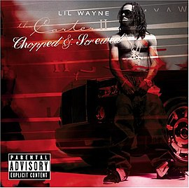 Обложка альбома Lil' Wayne «Tha Carter II: Chopped And Screwed» ()