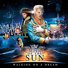 Обложка альбома Empire of the Sun «Walking on a Dream» (2008)