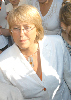 President Michelle Bachelet of Chile