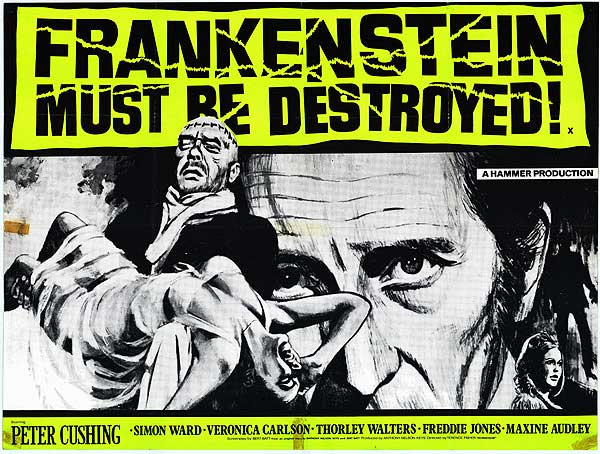 Datoteka:FRANKENSTEIN MUST BE DESTROYED POSTER.jpg