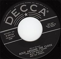 """Rock Around the Clock"" cover"