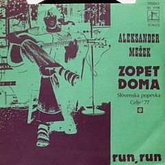 """Zopet doma"" cover"