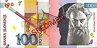 Bankovec za 100 sit (1992) - sprednja stran