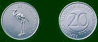 Kovanec za 20 sit