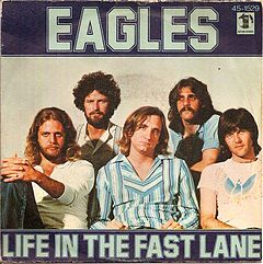 """Life in the Fast Lane"" cover"