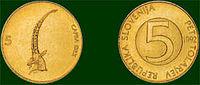 Kovanec za 5 sit