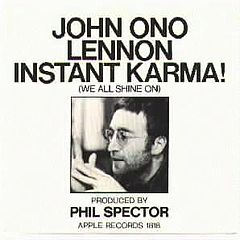 """Instant Karma!"" cover"
