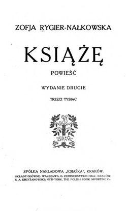 Książęcałość Wikisource