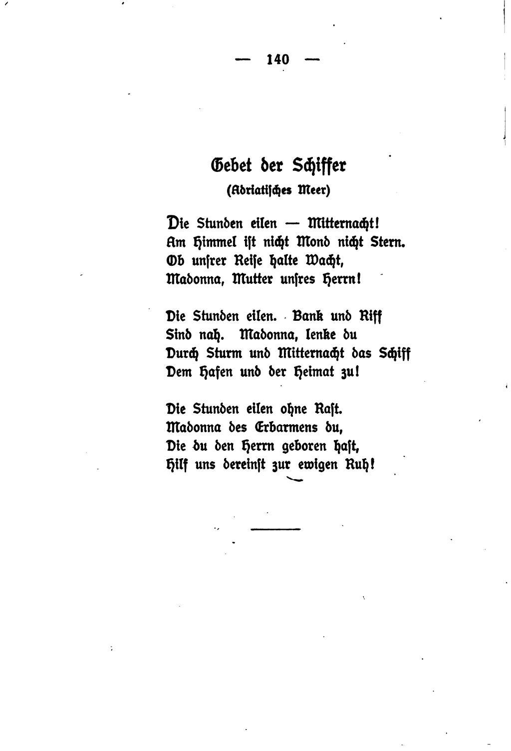 Gedicht madonna hesse