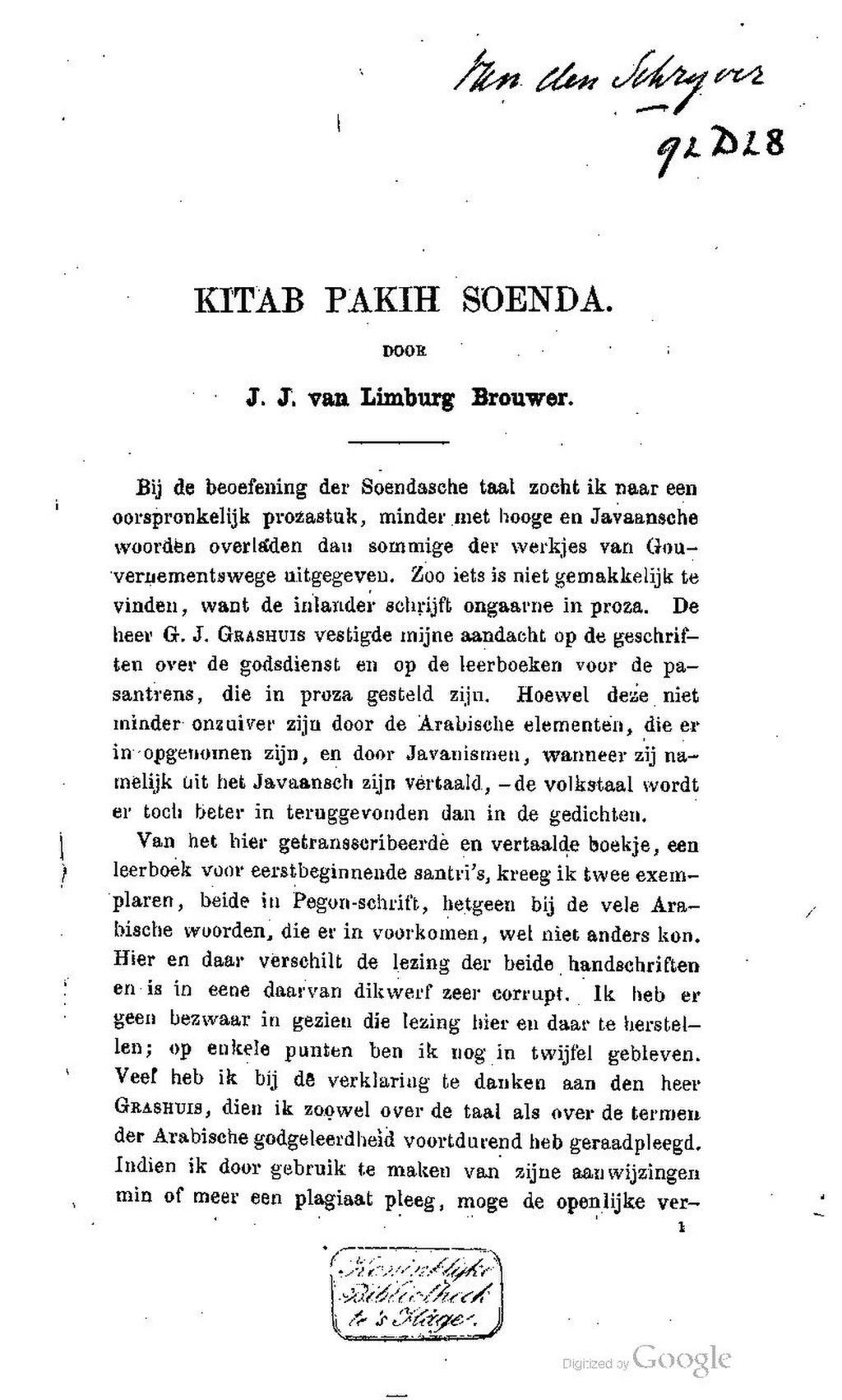 Pagekitab Pakih Soendapdf7 Wikisource