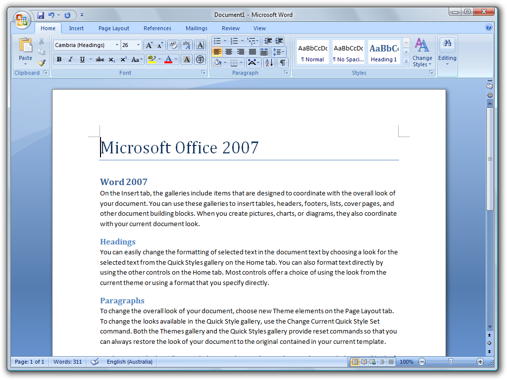 microsoft word wikipedia