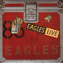 Eagles Live kopertina