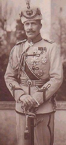 Princ Vidi në fronin e Shqipërisë