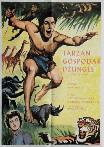Tarzan the Ape Man 1932 poster