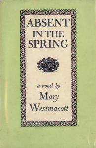Absent in the Spring First Edition Cover 1944.jpg
