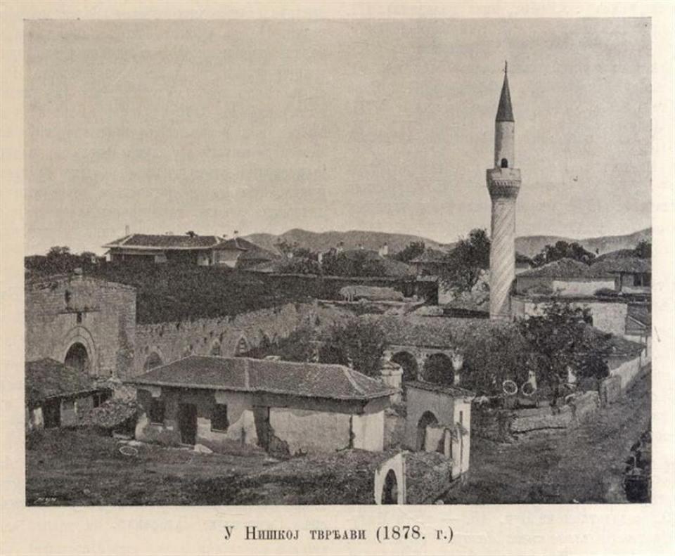 Naseljle unutar Niške tvrđave 1878. god