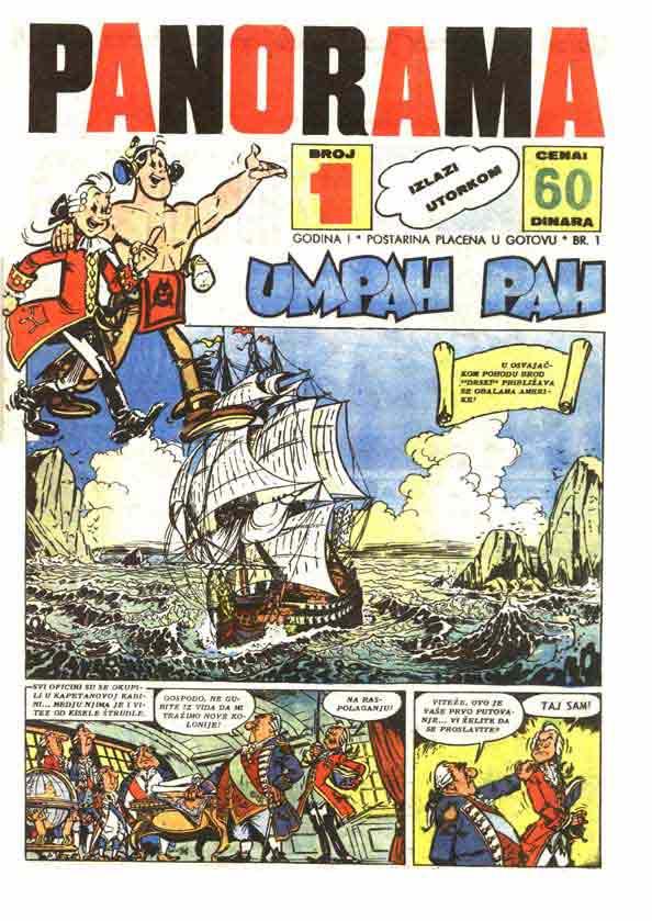 Strip u bivšoj Jugoslaviji Magazin_panorama