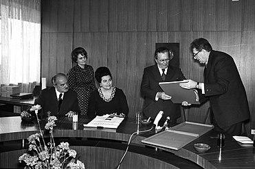 Stevan Kragujevic, Tito, u Narodnoj biblioteci Srbije, 1975