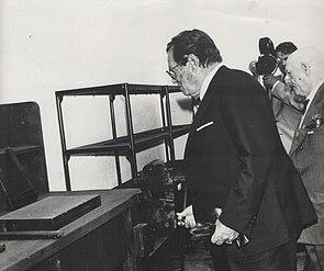 Stevan Kragujevic, Tito, Radionica u Gosi, masine na kojima je radio
