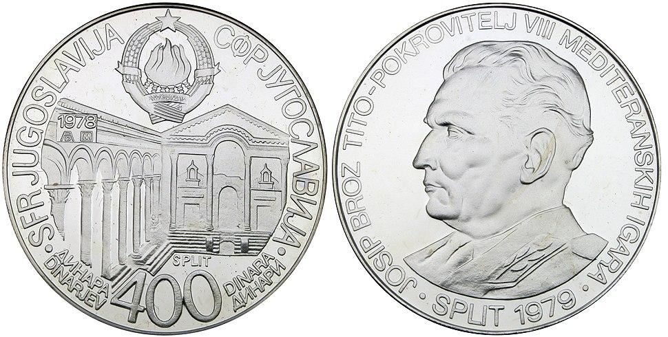 400 динара МИ Сплит 1978
