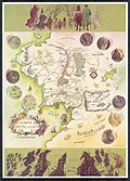 Бејнсова мапа Средње земље
