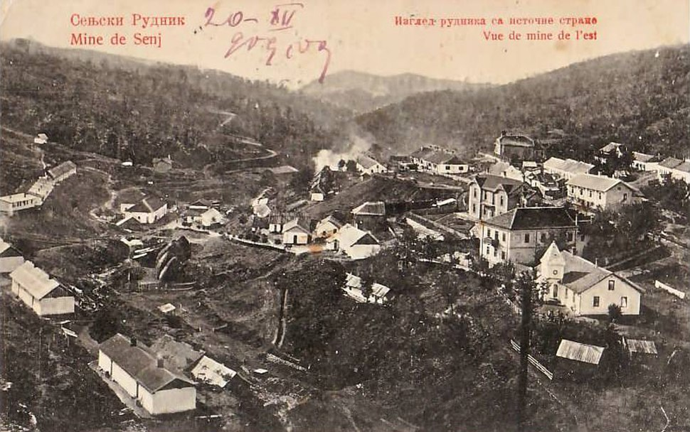 Сењски Рудник 1909
