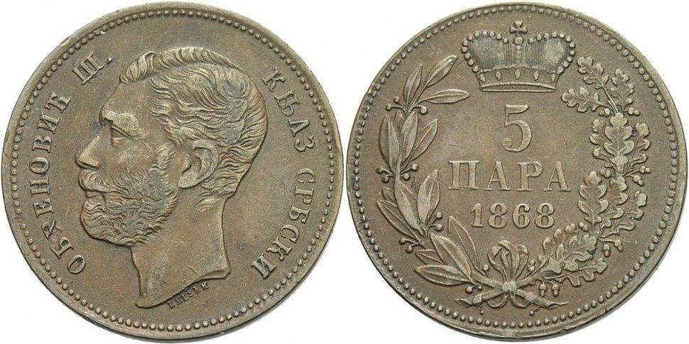 5. пара 1868