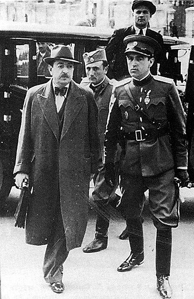 Hapsenje Dragise Cvetkovica 1941