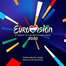 Eurovision- A Tribute to the Artists and Songs 2020 album.jpg