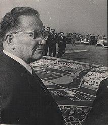 Stevan Kragujevic, Tito, Maketa i plan Novog Beograda, 1967