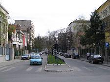 krunska ulica mapa beograda Ulica Krunska — Vikipedija, slobodna enciklopedija krunska ulica mapa beograda
