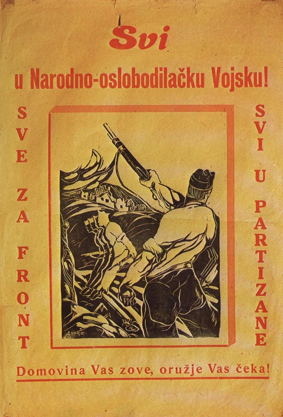 Plakat NOVJ