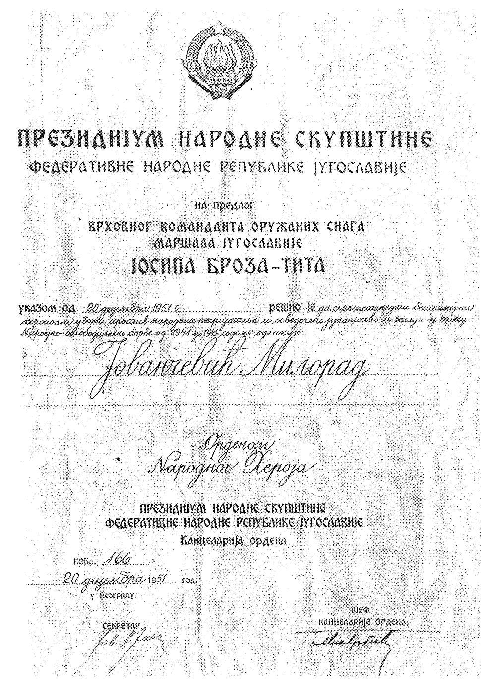 Prezidijum Narodne Skupstine