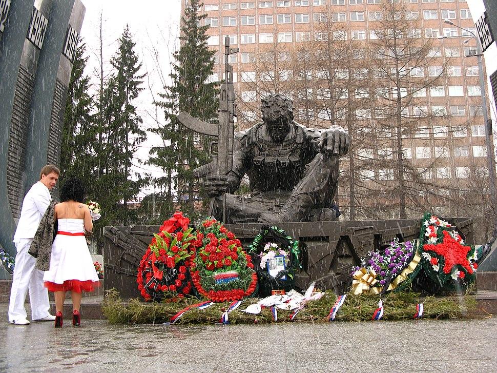 Споменик палим војницима Јекатеринбург