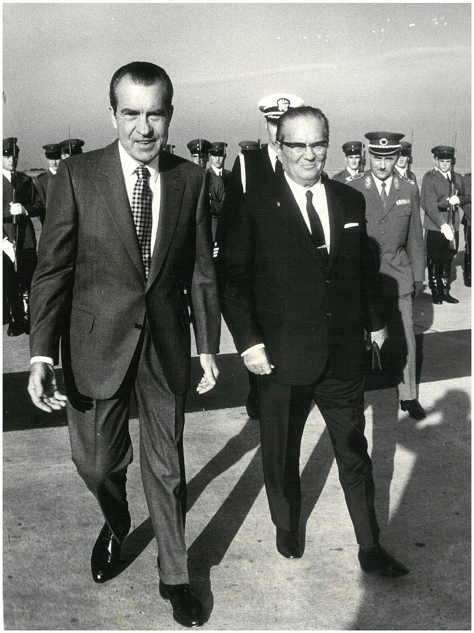 Stevan Kragujevic, Ricard Nikson i Tito, 30 sept 1970 )