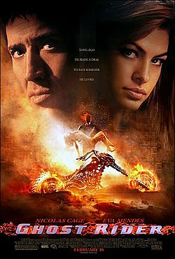 Theatrical poster for Ghost Rider