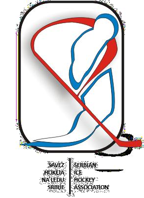 Лого Асоціації хокею Сербії