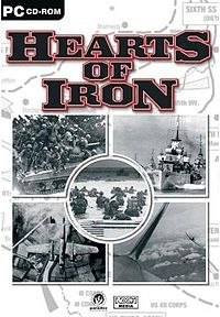 Омот кутије Hearts of Iron-а