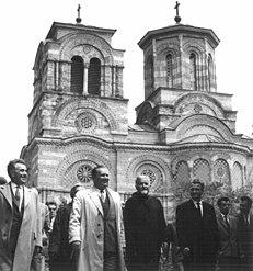 Stevan Kragujevic, Tito, Lazarica, 1961