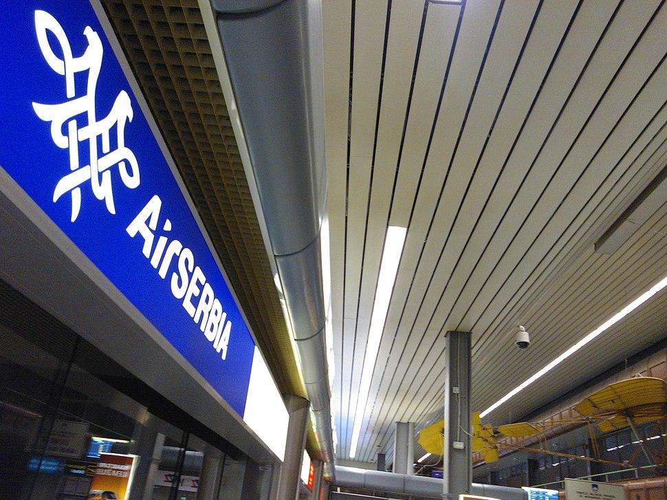 Ер Србија аеродром Брник