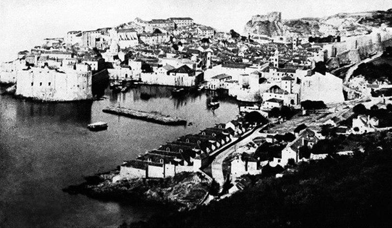 Fotografija Dubrovnika nastala pre 1873. godine