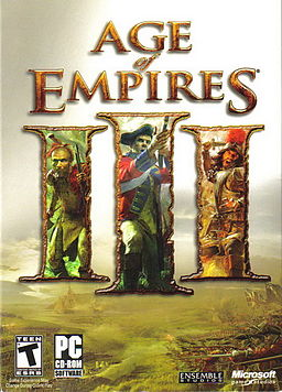 Age of Empires III omot dvd-а