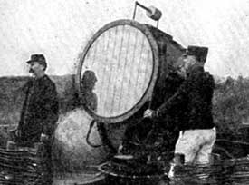 WW1 searchlight