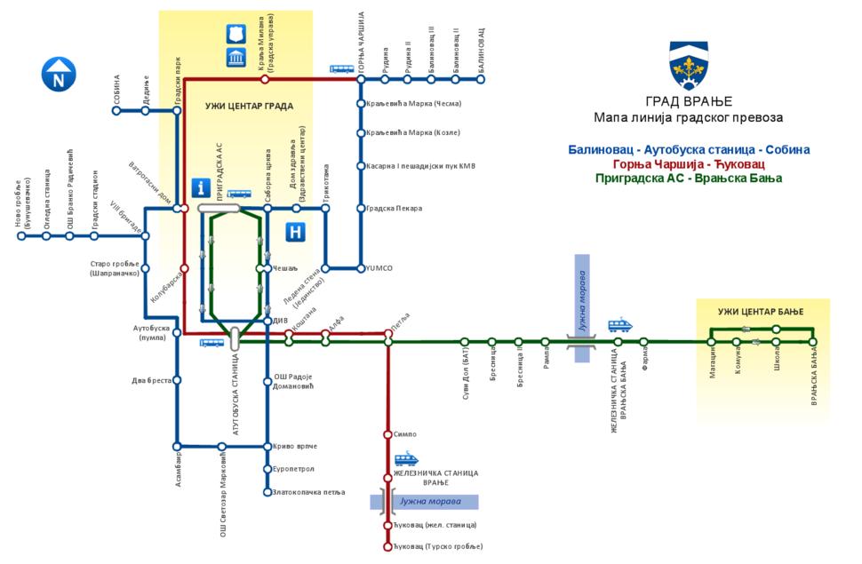Gradski prevoz vranje