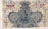 1-2 динара 1919 наличје