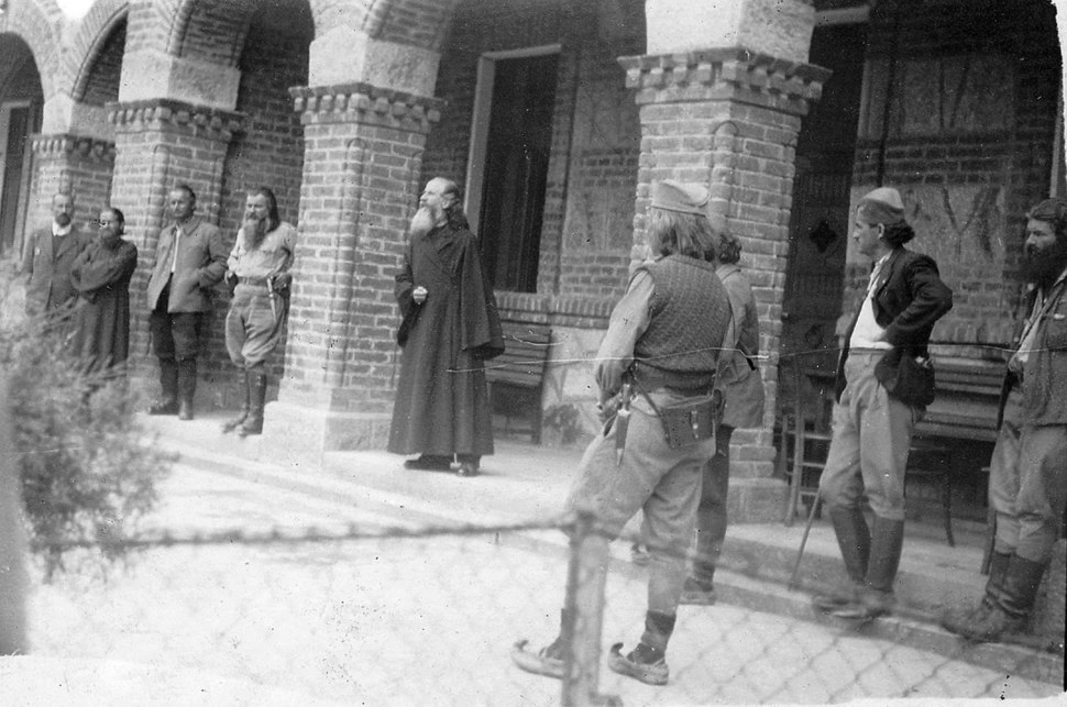 Justin popovic i palosevic kalenic 1944