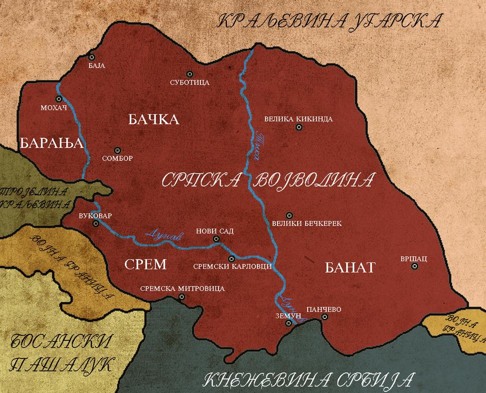 Srpska Vojvodina 1848